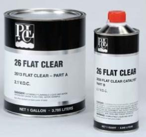 pcl 26 flat clear